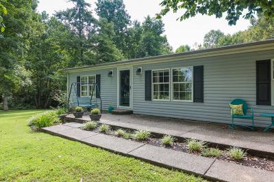 Single Family Home Sold: 6345 Roy Pearson Rd