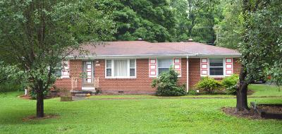 Christian County, Ky, Todd County, Ky, Montgomery County Single Family Home For Sale: 321 Earl Slate Road