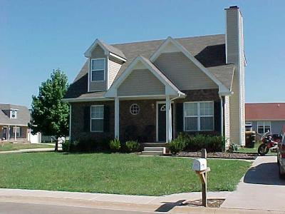 Christian County, Ky, Todd County, Ky, Montgomery County Rental For Rent: 211 Grassmire Drive