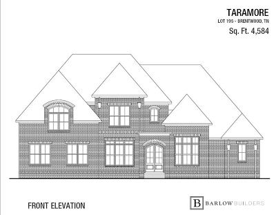 Williamson County Single Family Home For Sale: 9523 Nottaway Ln., Lot 195