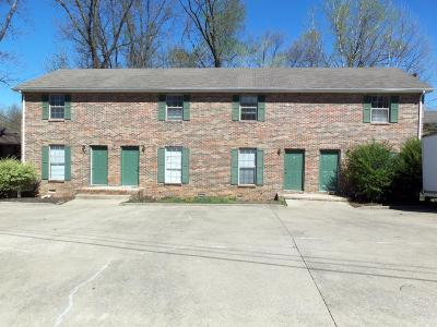 Christian County, Ky, Todd County, Ky, Montgomery County Rental For Rent: 471 Martha Lane