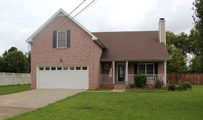 Christian County, Ky, Todd County, Ky, Montgomery County Single Family Home For Sale: 1380 Bluebonnet Dr
