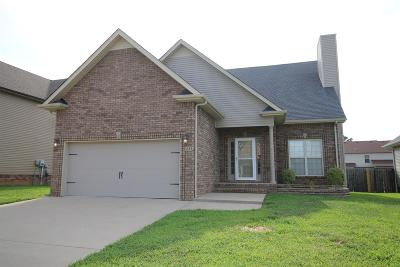 Christian County, Ky, Todd County, Ky, Montgomery County Rental For Rent: 1233 Chinook Cir.