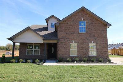 Christian County, Ky, Todd County, Ky, Montgomery County Single Family Home For Sale: 245 The Groves At Hearthstone