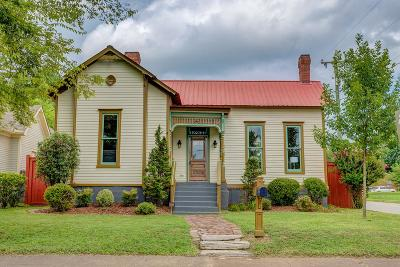 Davidson County Single Family Home Under Contract - Not Showing: 337 Hancock St