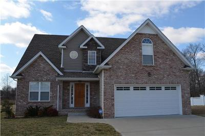 Clarksville Single Family Home Under Contract - Showing: 728 Richards Drive