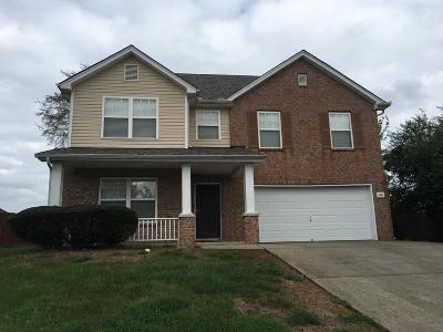 Mount Juliet TN Single Family Home Under Contract - Showing: $299,900