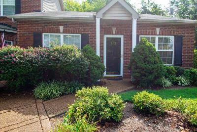 Thompsons Station  Condo/Townhouse For Sale: 512 Cashmere Dr