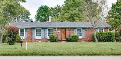 Nashville Single Family Home For Sale: 714 Harpeth Knoll Rd