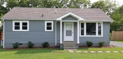 Hendersonville Single Family Home Under Contract - Showing: 107 Nokes Dr