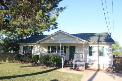 White Bluff Single Family Home Under Contract - Showing: 1137 Old Charlotte Rd