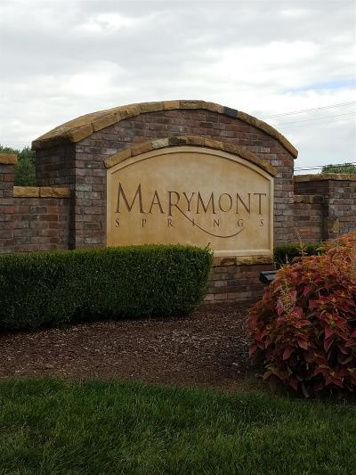 Murfreesboro Residential Lots & Land For Sale: 4314 Marymont Springs Blvd