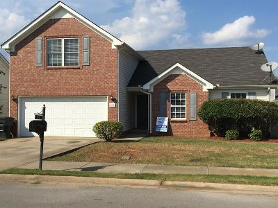 Murfreesboro Single Family Home Under Contract - Showing: 2210 Cason Trl