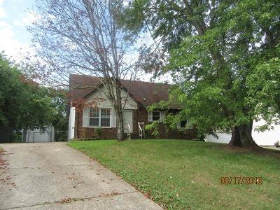 Clarksville Single Family Home For Sale: 612 Bay Ln