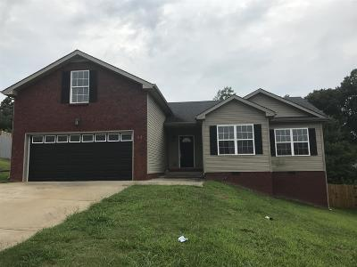 Clarksville Single Family Home Under Contract - Showing: 512 Cedar Valley Dr