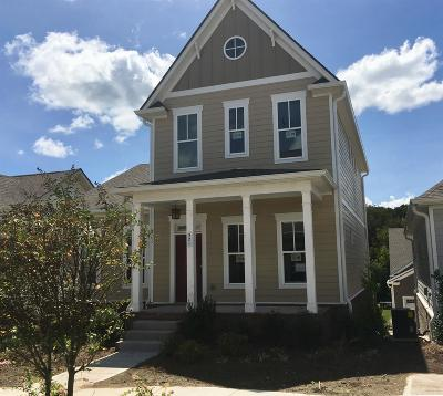 Nolensville Single Family Home For Sale: 521 Pleasant Street #129