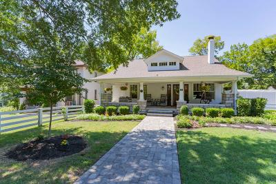 Nashville Single Family Home For Sale: 119 Bowling Ave