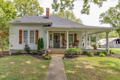 Marshall County Single Family Home Under Contract - Showing: 3201 Coble Rd