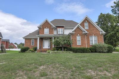 Clarksville Single Family Home For Sale: 3371 Sheffield Way