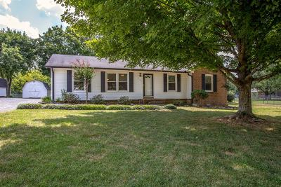 Spring Hill Single Family Home For Sale: 801 Belle Dr