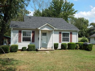 Lawrenceburg Single Family Home For Sale: 512 E Heights St