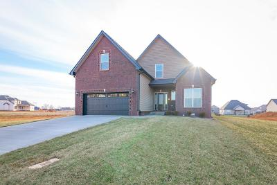 Christian County, Ky, Todd County, Ky, Montgomery County Single Family Home Under Contract - Showing: 120 Wellington Fields