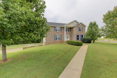 Christian County, Ky, Todd County, Ky, Montgomery County Single Family Home Under Contract - Not Showing: 1099 Thornberry Dr