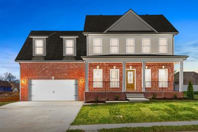 Clarksville Single Family Home For Sale: 63 Woodford Estates