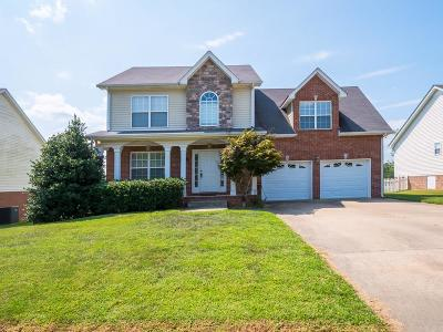 Pleasant View Single Family Home For Sale: 268 Misty Dr