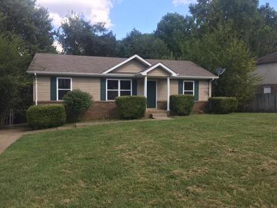 Clarksville Single Family Home For Sale: 564 Somerset Ln