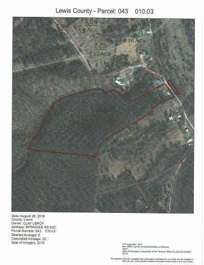 Hohenwald Residential Lots & Land Under Contract - Not Showing: 633 Springer Rd