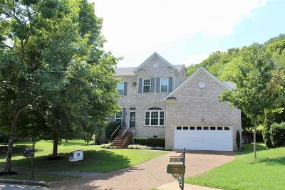 Franklin Single Family Home Under Contract - Showing: 1403 Harve Ct