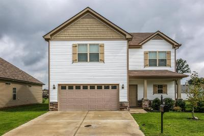 Murfreesboro Single Family Home Under Contract - Not Showing: 3372 Tourmaline Dr
