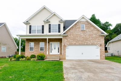 Clarksville Single Family Home Under Contract - Showing: 1638 Autumn Dr