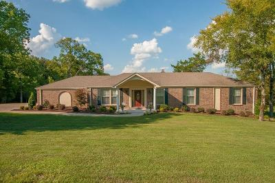 Mount Juliet Single Family Home Under Contract - Not Showing: 106 Oakmont Dr