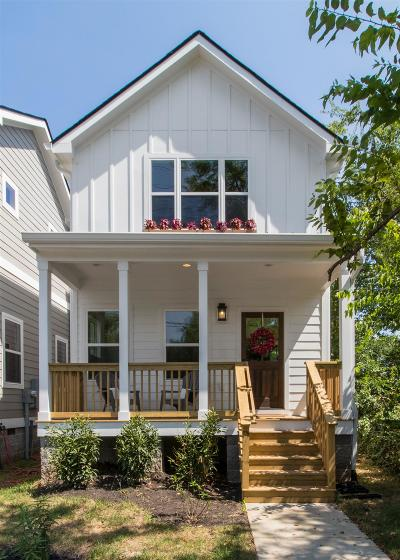 Nashville TN Single Family Home Under Contract - Not Showing: $444,900
