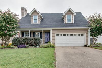 Murfreesboro TN Single Family Home Under Contract - Not Showing: $233,000