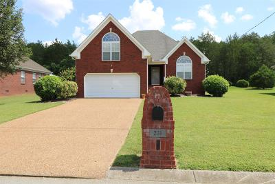 Wilson County Single Family Home Under Contract - Not Showing: 231 Parrish Pl
