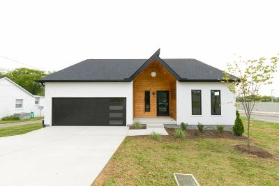 Nashville Single Family Home Under Contract - Not Showing: 506 Newton St
