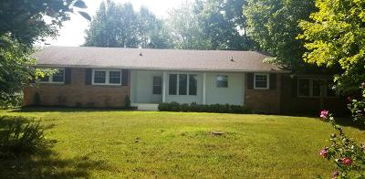 Ashland City Single Family Home Under Contract - Showing: 1001 Norman Harris Rd