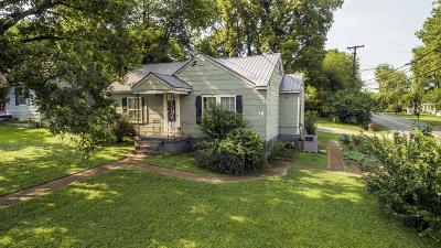 East Nashville Single Family Home For Sale: 900 Oneida Ave