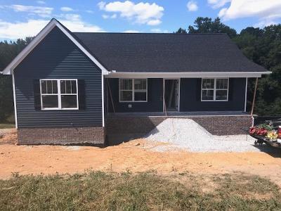 Dickson Single Family Home For Sale: 1283 Harmon Springs Road Lot 2
