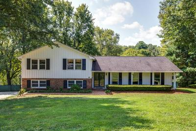 Brentwood Single Family Home Under Contract - Showing: 5732 Cloverland Pl