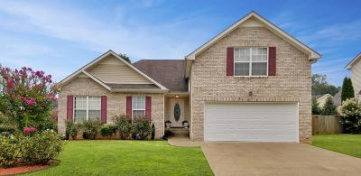 Clarksville Single Family Home Under Contract - Showing: 3312 Sunny Slope Dr
