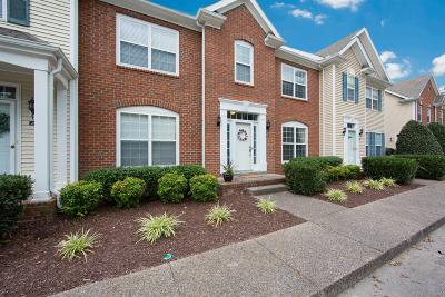 Thompsons Station  Condo/Townhouse Under Contract - Showing: 207 Newport Cove Ct