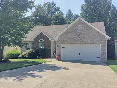 Clarksville Single Family Home Under Contract - Not Showing: 556 Parkvue Village Way
