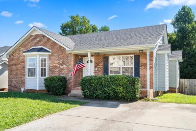 Clarksville Single Family Home Under Contract - Showing: 2688 Cider Dr