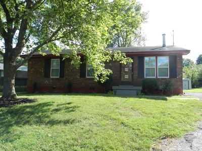 Hendersonville Single Family Home Under Contract - Showing: 109 Savely Ct