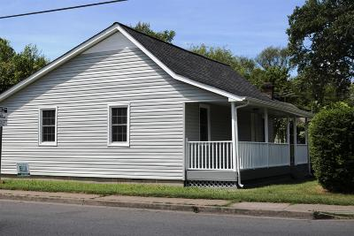 Murfreesboro Single Family Home Under Contract - Not Showing: 460 E State St