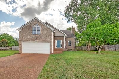 Thompsons Station  Single Family Home Under Contract - Showing: 2740 Nottingham Ct